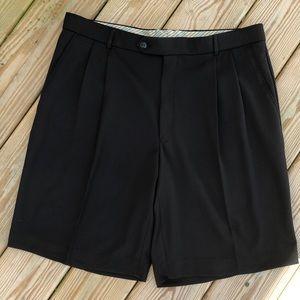 BALLIN Relax Comfort-EZE Pleated Front Golf Shorts